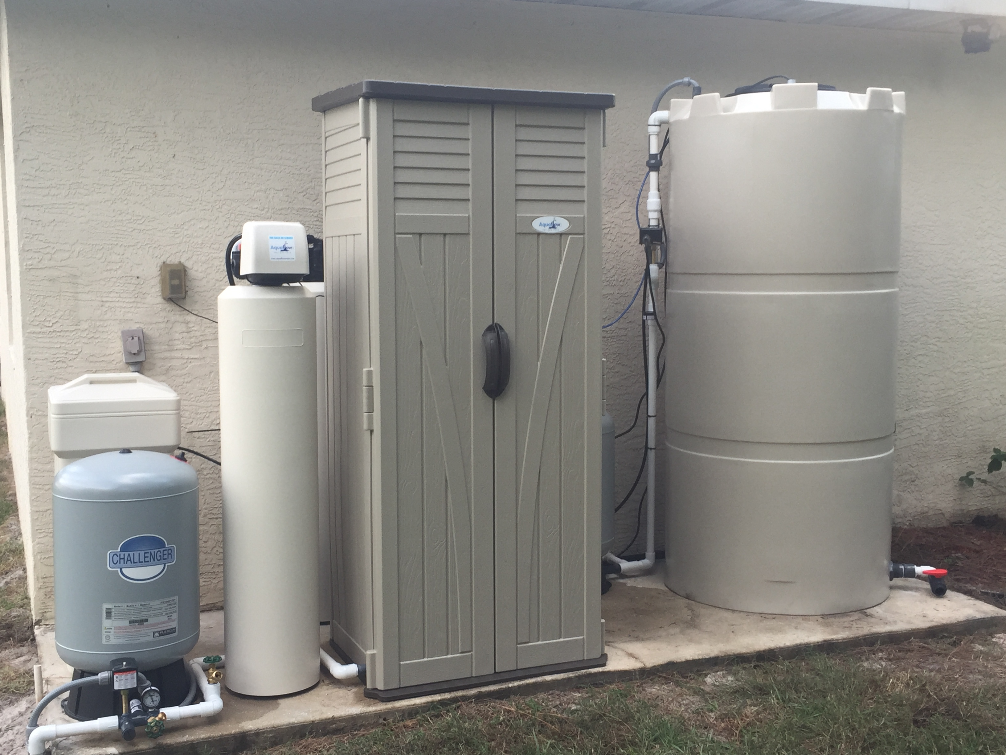 aquaflow low energy whole house reverse osmosis system